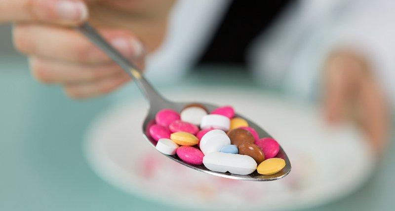 take medicine and capsule