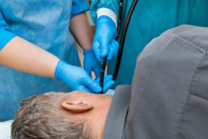 man-having-upper-endoscopy-examination